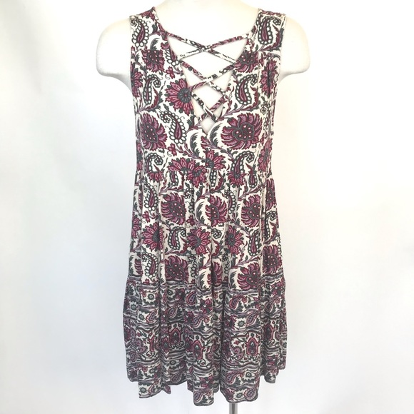 American Eagle Outfitters Dresses & Skirts - American Eagle size S purple floral summer dress
